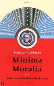 Kaft Adorno, Minima moralia