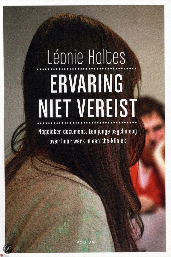 Kaft Leonie Holtes, Ervaring niet vereist