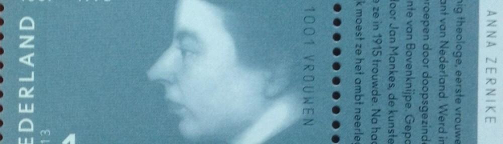 Postzegel Anna Zernike