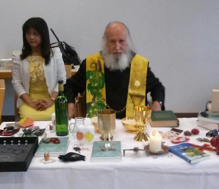 Hsui-Ju Wu en Anselm Grün