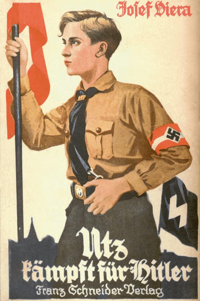 Kaft jongensboek uit 1933